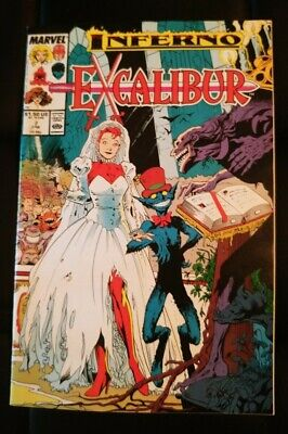 Excalibur Issue 7 Marvel Comics • 1.50£