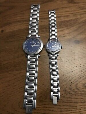 Klaus Kobec Rare His And Hers Ltd Edition Couture Watch Set • 100£