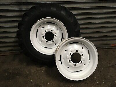 Tractor Front Wheels Rims Tyres 16 Inch • 115£