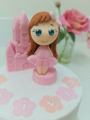 £6.99 • Buy Princess Cake Toppers EDIBLE Decoration Personalised Birthday