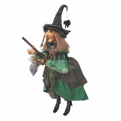 Witches Of Pendle - Alice Nutter Witch Doll Flying (Green) 50cm Wicca Pagan New • 49.95£