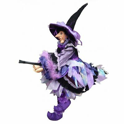£49.95 • Buy Witches Of Pendle Cassandra Purple Witch Doll 60cm Flying Collectible Wicca New