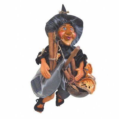 Witches Of Pendle Collectible Witch Doll Demdike Grey • 24.95£
