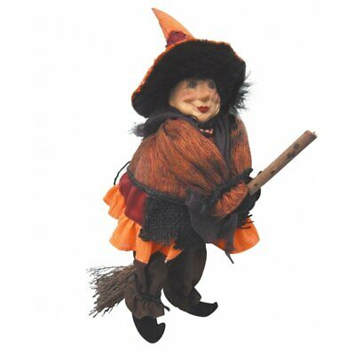 Witches Of Pendle - Rosie Witch Doll Flying (Orange) 30cm FREE P&P Collectible • 19.95£
