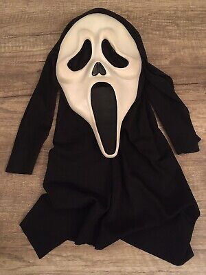 $ CDN94.95 • Buy Vintage Scream Ghost Face Mask Easter Unlimited T Stamped 9206S Glow In The Dark