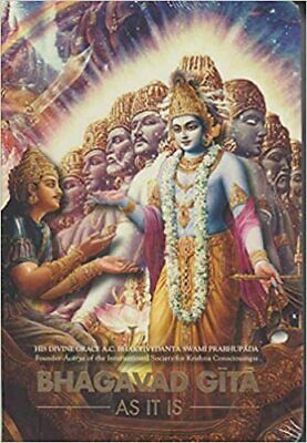 AU16.99 • Buy Bhagavad-Gita: As It Is By A.C. Bhaktivedanta Swami Prabhupada Pocket Ed NEW AUS