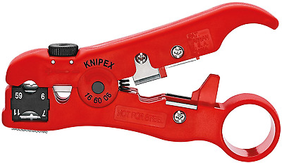 AU36.40 • Buy KNIPEX Wire Stripping Tool For Coax And Data Cable 125 Mm 16 60 06 SB Product On