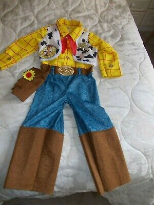 Toy Story Woody Outfit  Age 3-4 Yrs • 2.50£