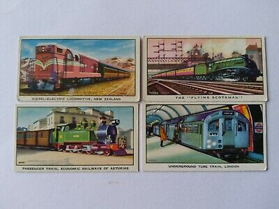 Kelloggs Trade Cards  The Story Of The Locomotive  Full Set  1962 Series 2 • 4£