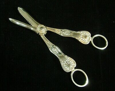 £149 • Buy Silver Hallmarked Grape Scissors Sheffield 1959 Cooper Brothers & Sons 120g