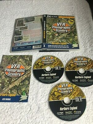 VFR Real Scenery For Northern England - FSX (PC CD) Works With MSFS 2004 • 5.49£