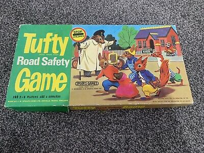Tufty Road Safety Game By J.W.Spear And Sons Ltd Enfield England 1973  • 0.99£