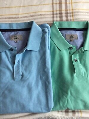Marks And Spencer Mens 2 X Polo Shirts M • 0.99£