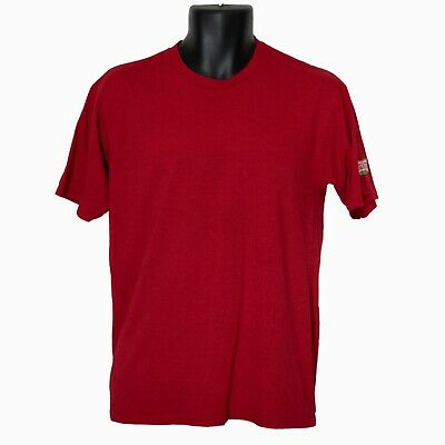 $9.31 • Buy Krispy Kreme Port & Company Mens T-Shirt Red Size M Medium Short Sleeve