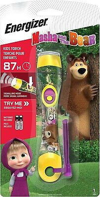£12.99 • Buy Masha And The Bear Children's Torch From Energizer AAA Battery Included