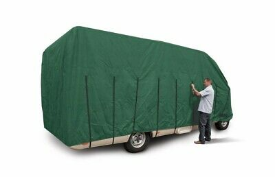 Motorhome Cover For 7m - 7.5m In Green With Carry Bag. • 50£