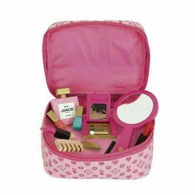 £23.99 • Buy Janod Little Miss Vanity Case 10pc Wooden Make Up Toys 3-8 Years Girl's Giftware