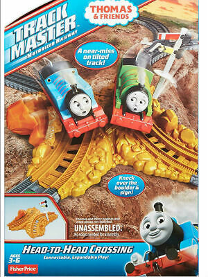 £9.99 • Buy Mattel Thomas Trackmaster Train Set HEAD TO HEAD CROSSING Expansion Pack Toy