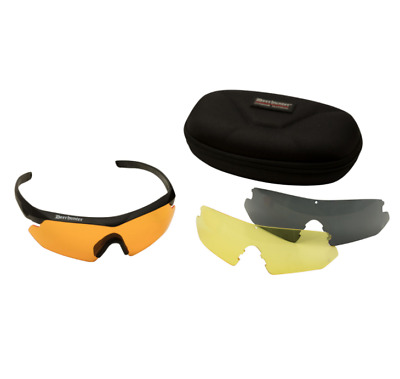 Deerhunter Shooting Glasses With Extra Colour Lenses UV Protection • 22.95£