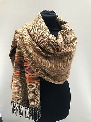 Ladies Brand New Tibet Yak Wool Scarf For Warm And Cosy Winter • 18£