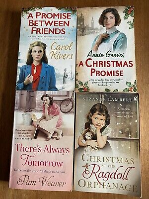 4 Books By Annie Groves, Carol Rivers, Pam Weaver & Suzanne Lambert • 4.50£