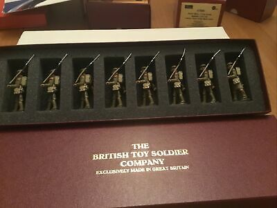 British Toy Soldier  Company W.W.1.  Set 52 Infantry Marching  Tin Helmet • 62£