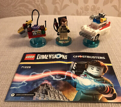 Lego Dimensions Ghostbusters Level Pack Peter Venkman Ecto-1 • 21£