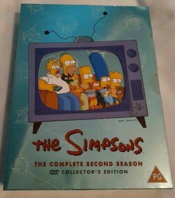 £3.50 • Buy The Simpsons - Series 2 - Complete (DVD, 2002, 4-Disc Set)