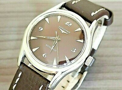 $ CDN262.97 • Buy 1960's VINTAGE LONGINES 17J S/S AUTOMATIC MENS WATCH 6536 1/937 CAL.19AS