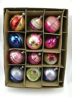 $ CDN11.88 • Buy Vintage Christmas Ornaments Poland Lot Of 12