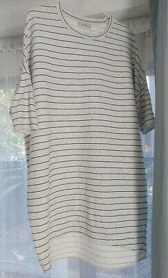 AU22 • Buy Pull And Bear Striped T-shirt Top Oversize Size M