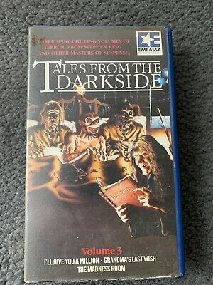 Tales From The Darkside, Vol 1 - PAL VHS - Embassy • 10£