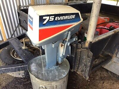 AU235 • Buy Outboard Motor - Auxilliary 7.5 HP
