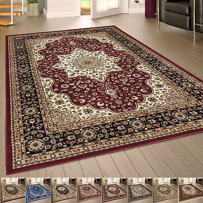Non-Slip Large Traditional Rug Oriental Style Bedroom Living Room Classic Carpet • 199.99£