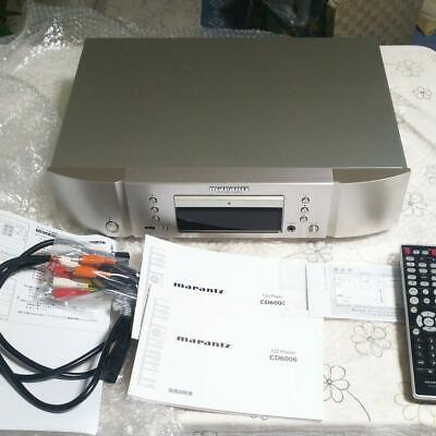 Marantz CD6006 CD Player Unused Items Mint Perfect Condition Japan Good Working • 388.38£