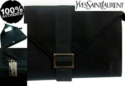 100% AUTHENTIC Ltd Edition YSL COUTURE BEAUTY MAKEUP Clutch Evening BAG & MIRROR • 59.99£