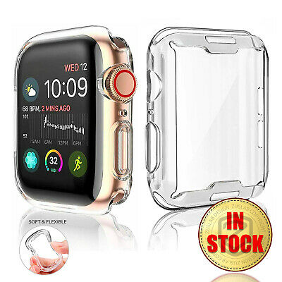 $ CDN6.80 • Buy For Apple Watch IWatch Series SE 6 5 4 3 2 Clear Case Full Cover 38 40 42 44mm
