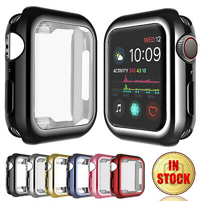 $ CDN6.82 • Buy For Apple Watch IWatch Series SE 6 5 4 3 2 1 Case Soft Full Cover 38 40 42 44mm