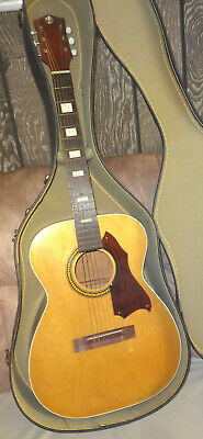 $ CDN251.93 • Buy Vintage SILVERTONE 319 USA Acoustic Guitar 1970