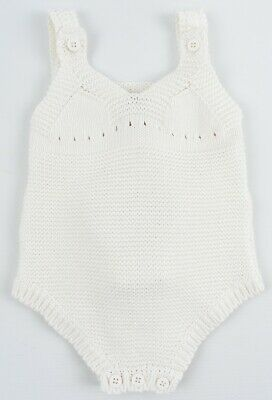 £31.99 • Buy STELLA MCCARTNEY Baby Girls' Knit Body With Pink Bunny, Cream, Size 3 Months