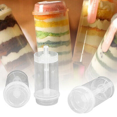 £13.49 • Buy 50 X Cakes Dessert Push Up Pop Containers Shooter Pop Party Use For Push Cake