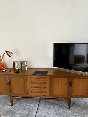 G Plan Fresco Teak Sideboard By V.B. Wilkins 1960s ( The Desirable One ) • 10.50£
