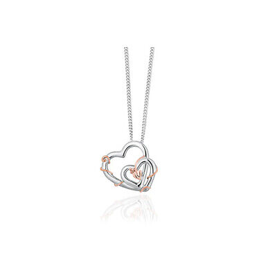 NEW Official Welsh Clogau Silver & Rose Gold Tree Of Life Vine Pendant £30 OFF! • 99£