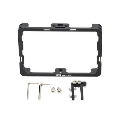 AU78.05 • Buy Nitze Field Monitor Cage Rig W HDMI Cable Clamp Fr Feelworld F6 Plus F5 Pro 5.5