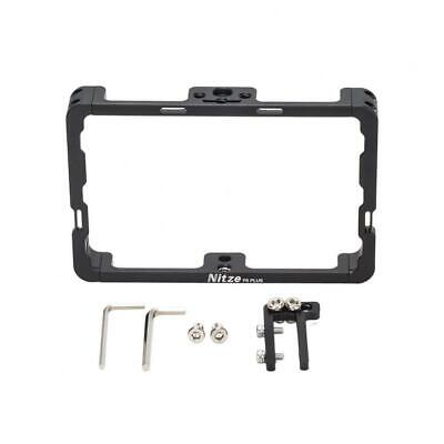 AU75.97 • Buy Nitze Monitor Cage W HDMI Cable Clamp For Feelworld F6 Plus 5.5 In Field Monitor