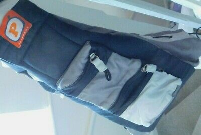 £8.99 • Buy Premaxx Baby Bag Grey & Black Sling And Hip Carrier 0-18 Months 2-15kg (RRP 49)