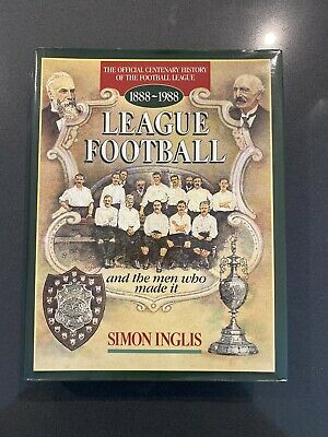League Football And The Men Who Made It By Simon Inglis (Hardback, 1988) Soccer! • 9.90£