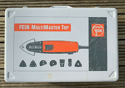 £140 • Buy Fein Multi Master Msxe 636 II 110v With Accessories And Carry Case.