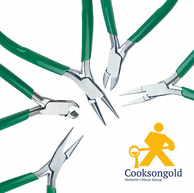 Cooksongold Jewellery Making Beading Pliers, Flat Nose, Chain Nose And More • 5.95£