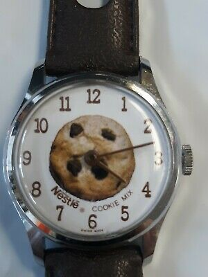 $ CDN12.54 • Buy Vintage Swiss Made Nestle Cookie Mix Watch Lafayette Watch Company Parts Repair